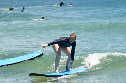 Free surf lesson in Byron Bay